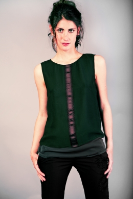 Top in chiffon
