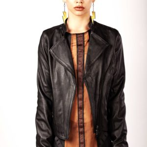 Leather biker – Cinzia Rossi