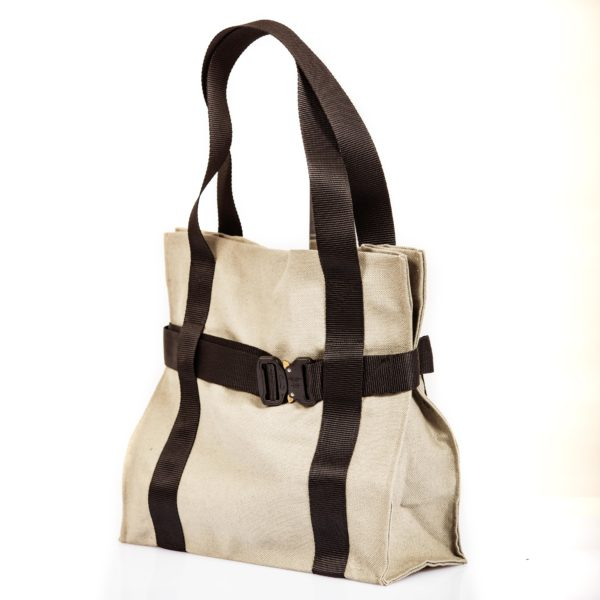 Shopping bag in tessuto