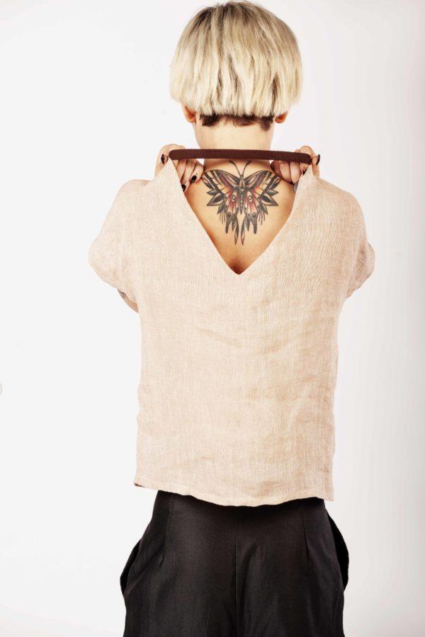 Linen top – Cinzia Rossi