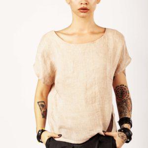 Top in lino - Cinzia Rossi