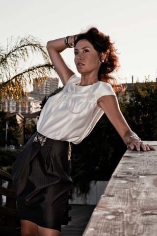 Lookbook collezione S/S 2009 - Cinzia Rossi