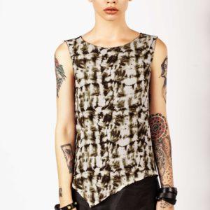 Silk and linen top - Cinzia Rossi