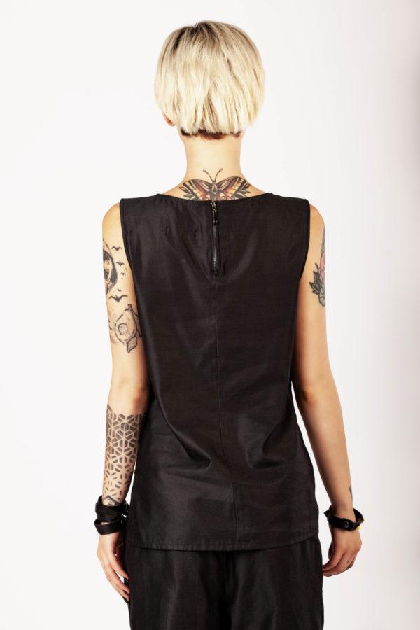 Top in seta e lino - Cinzia Rossi