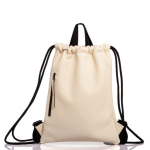 White leather backpack - Cinzia Rossi