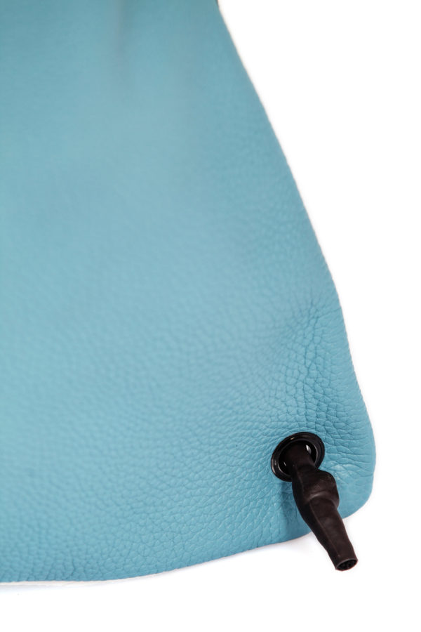 Light blue leather backpack - Cinzia Rossi