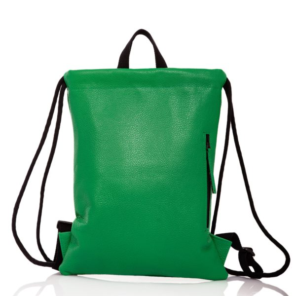Green leather backpack - Cinzia Rossi