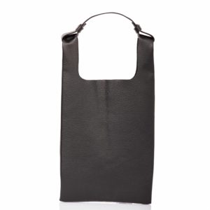Black leather tote-bag - Cinzia Rossi