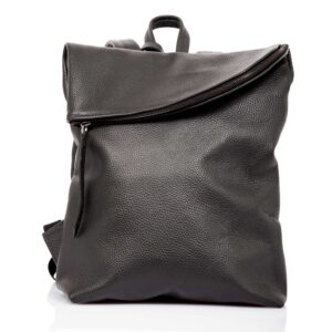 Black leather backpack - Cinzia Rossi