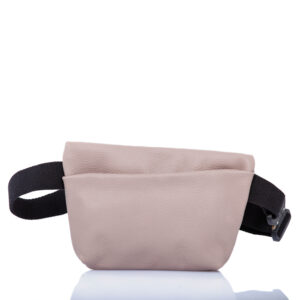 Pink leather belt bag - Cinzia Rossi