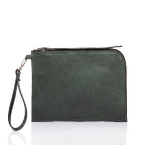 Bolso de piel verde - Cinzia Rossi