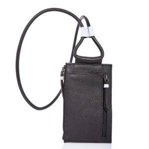Leather smartphone case-bag - Cinzia Rossi