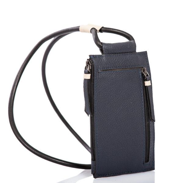 Leather smartphone case-bag - Cinzia Rossi