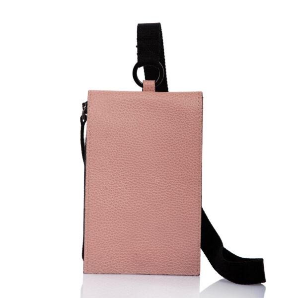 Etui-sac pour smartphone en cuir - Cinzia Rossi
