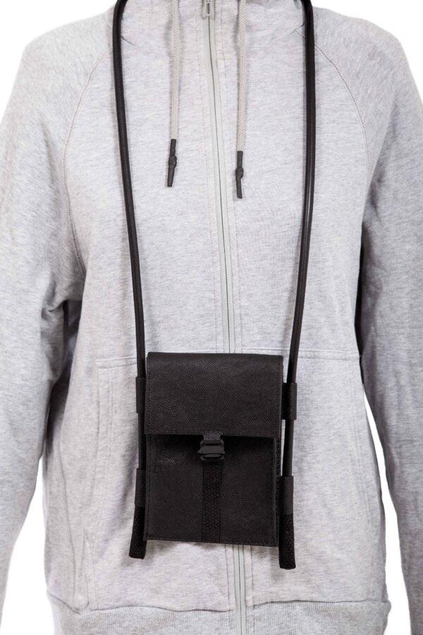 Étui-sac pour smartphone en cuir - Cinzia Rossi