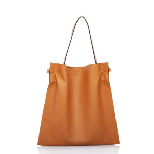 Beige leather tote-bag - Cinzia Rossi