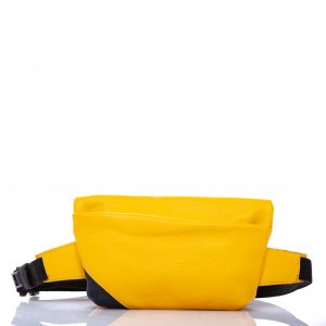 Yellow leather belt bag - Cinzia Rossi